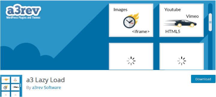 a3 Lazy Load плагин оптимизации изображений