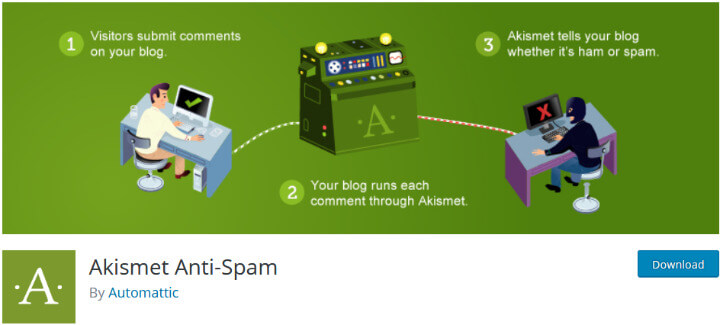 Akismet плагин защиты от спама