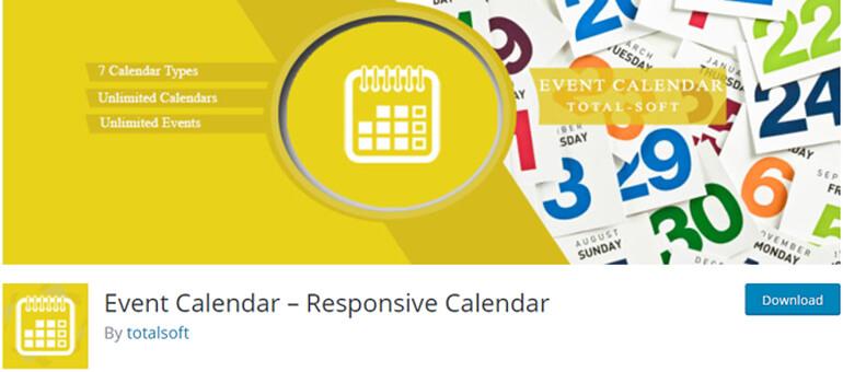 Event Calendar плагин временной шкалы