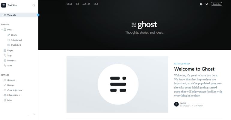Как использовать Ghost?