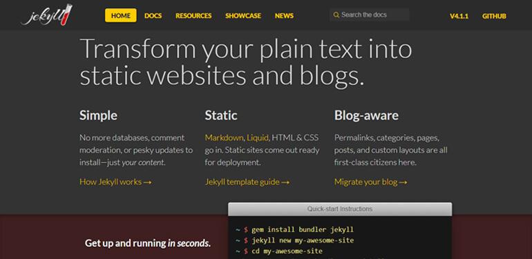 Платформы для ведения блогов, альтернатива WordPress