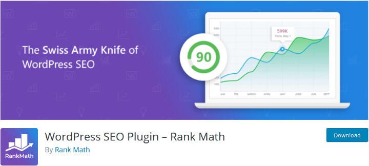 RankMath плагин для поисковой оптимизации (SEO)