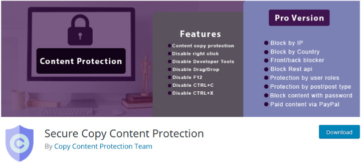 Лучшие плагины для защиты авторских прав