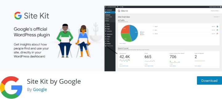 Site Kit плагин для подключения Google Analytics
