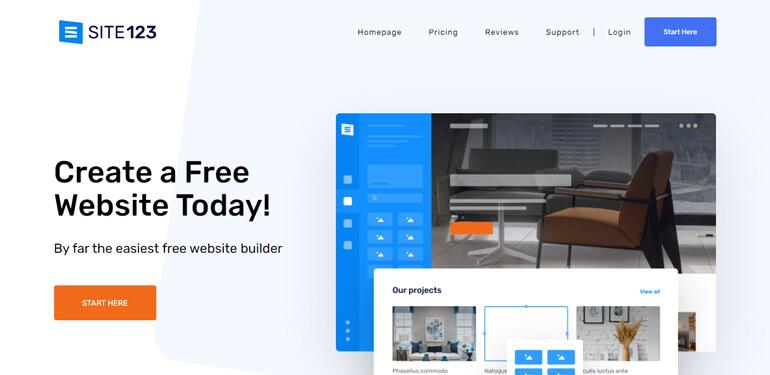 Конструкторы сайтов для альтернатив WordPress