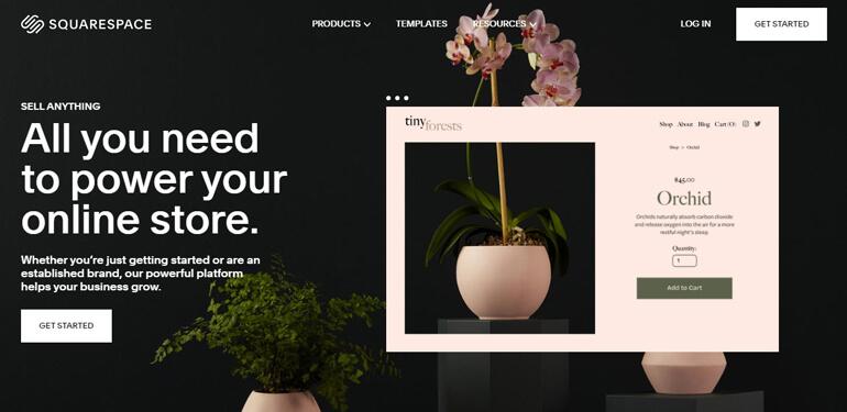 Squarespace - это платформа для создания красиво выглядящих веб-сайтов