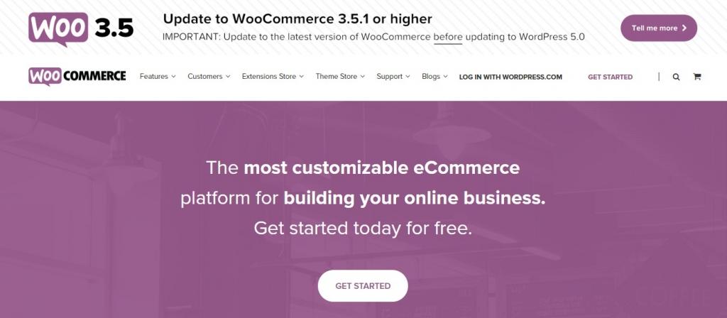 WooCommerce - одна из лучших бесплатных платформ электронной коммерции
