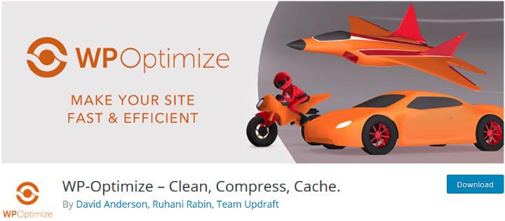WP-Optimize плагин очистки базы данных и оптимизации вашего сайта
